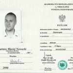 bartosz-nowacki-dyplom-fizjoterapeuta