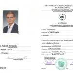 dyplom fizjoterapeuta licencjat